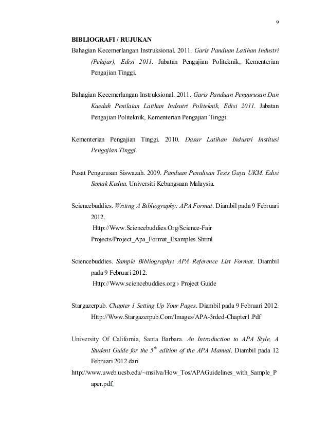 penulisan tesis gaya ukm 2011