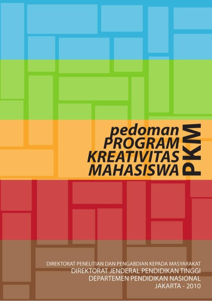 Panduan pkm 2010 revisi kedua