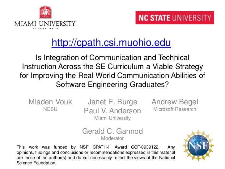CSEET Communication Panel