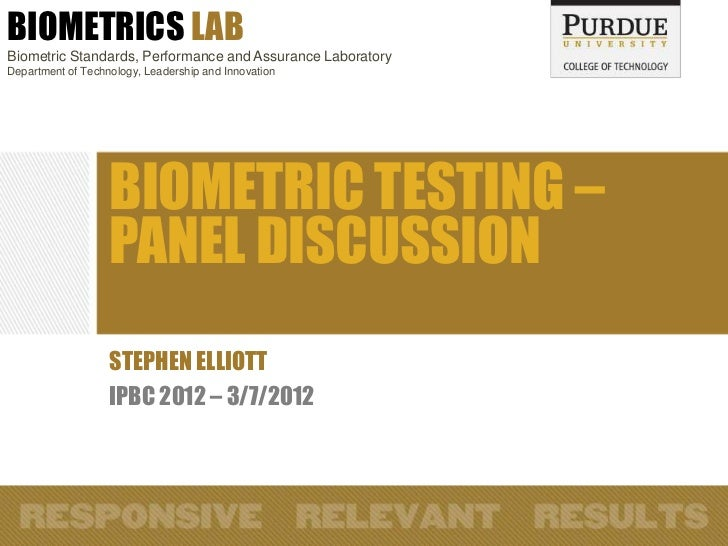 (2012) Whats missing in biometric testing