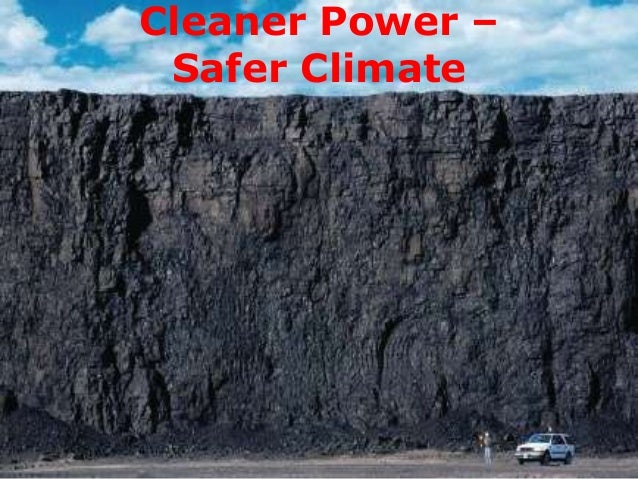 Cleaner Power – Safer Climate
