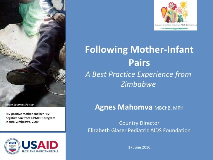 Following Mother-Infant Pairs: A Best Practice Experience from Zimbabwe