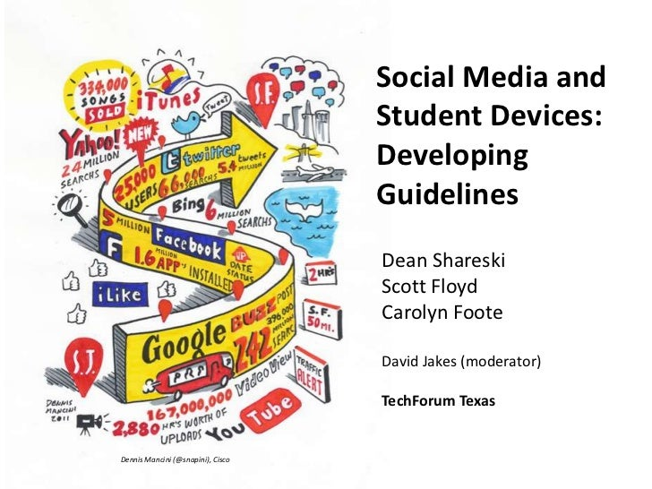 Social Media and                                   Student Devices:                                   Developing          ...