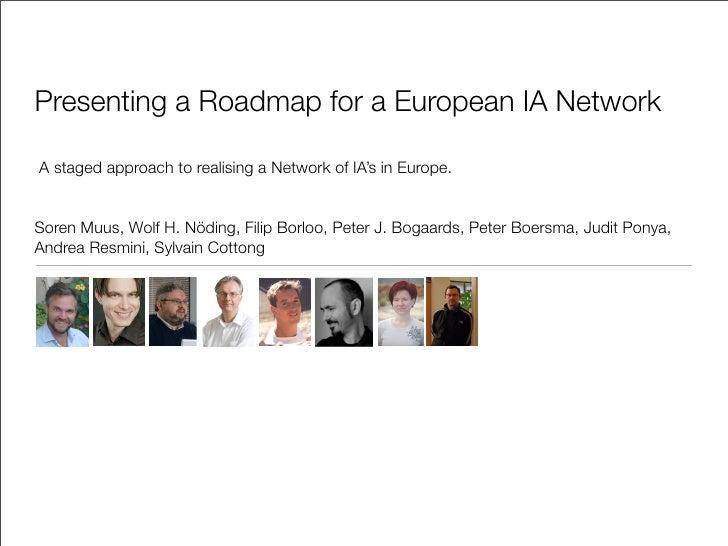 Panel EU IA Roadmap V08