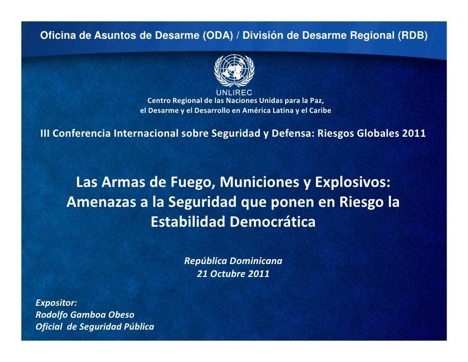 Panel iv armaas_de fuego_ammo_explosive_oct_2011