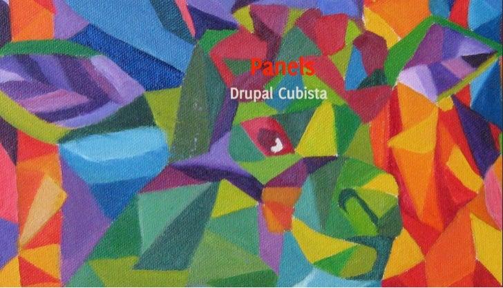 Panels: Drupal Cubista