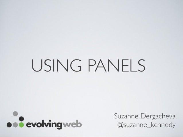 DrupalCamp NYC Panels Presentation - April 2014