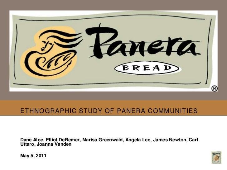 Panera Market Research Project