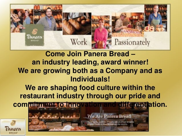 organization and management of panera bread Case analysis: panera bread company  while strategic management focuses where an organization is at present and where it intends to be in the future.