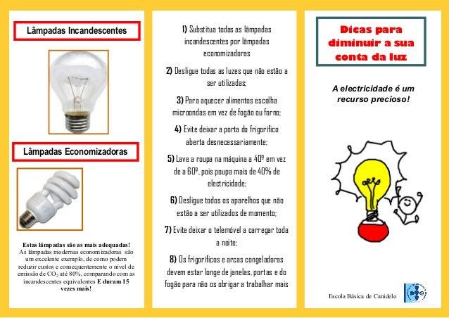 Panfleto luz for Como criar peces en casa para consumo