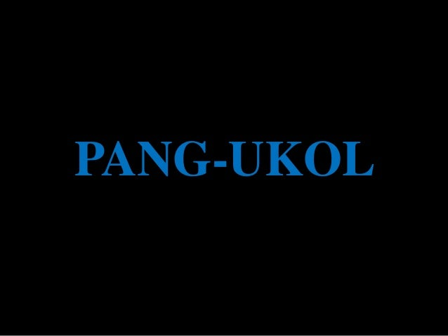 PANG-UKOL