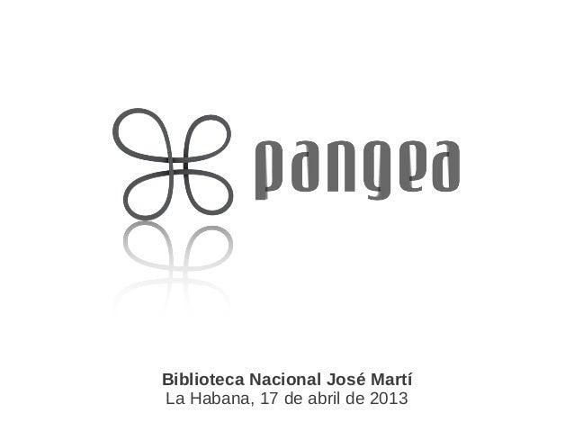 Biblioteca Nacional José MartíLa Habana, 17 de abril de 2013