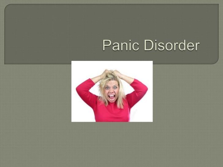 Panic Disorder<br />