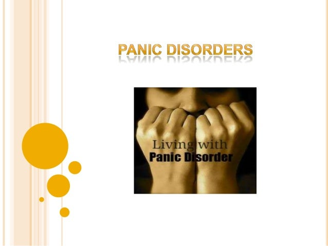 Panic disorder is different from the normal fear and anxiety reactions to stressful events in our lives. Panic disorder is...