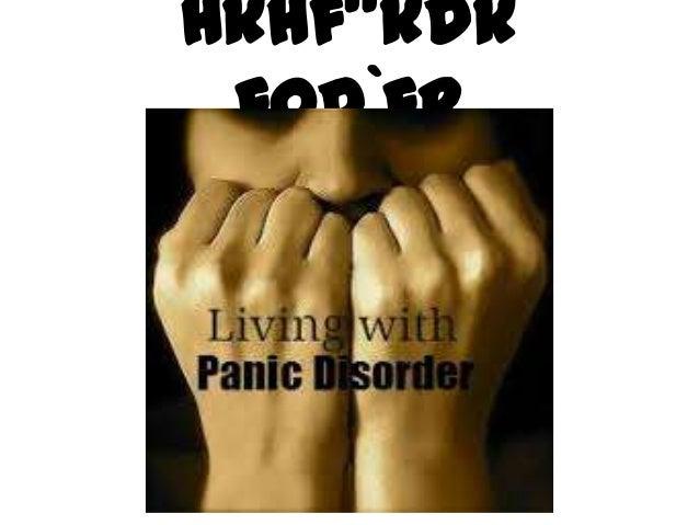 Panic dissorder