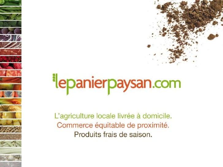 Panier paysan - Marseille 2.0