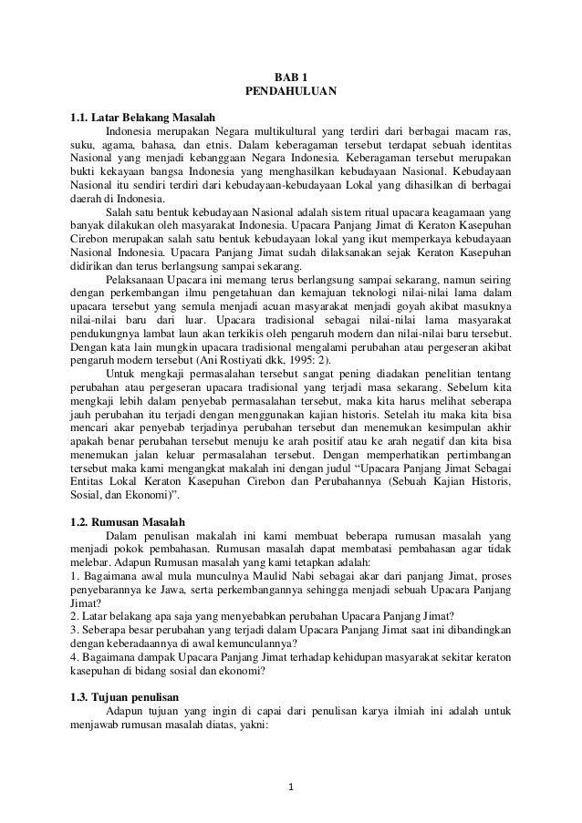 BAB 1 PENDAHULUAN 1.1. Latar Belakang Masalah Indonesia merupakan Negara multikultural yang terdiri dari berbagai macam ra...
