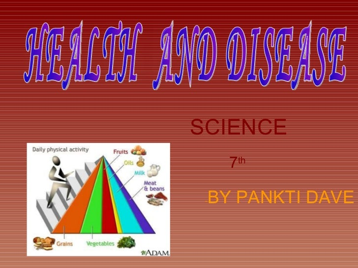 SCIENCE 7 th   - BY PANKTI DAVE HEALTH  AND DISEASE