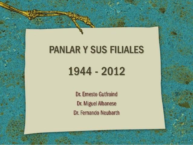 La Historia de Panlar - Panlar History