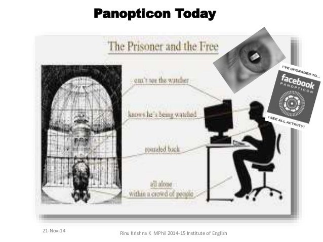 panopticon foucault essay Michel foucault originally devised panopticism, when he wrote about jeremy bentham's theoretically ideal institutional building, the panopticon panopticism in itself is essentially a model of power, and the relationship of that power between individuals and groups.