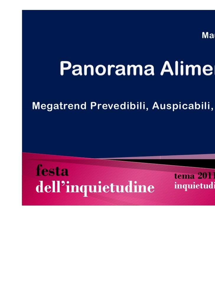 Cultura & Intrattenimento                   dell'inquietudine 2011          IV Edizione, 27-28-29 maggio 2011          Com...