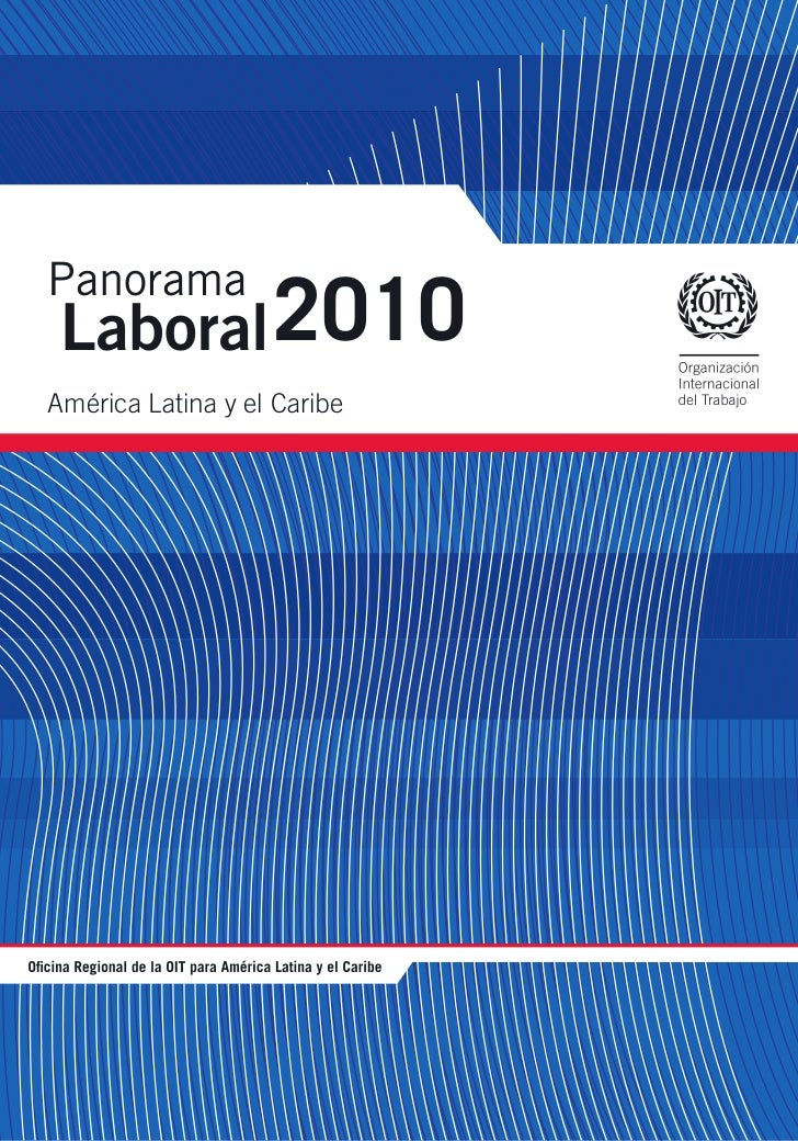 Panorama laboral-oit-2010