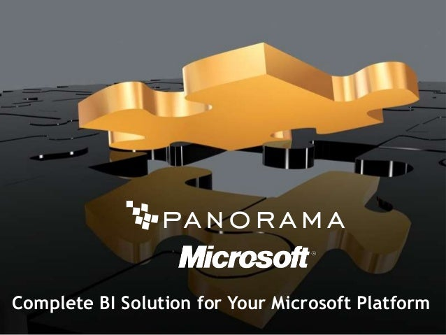 Complete BI Solution for your Microsoft Platform
