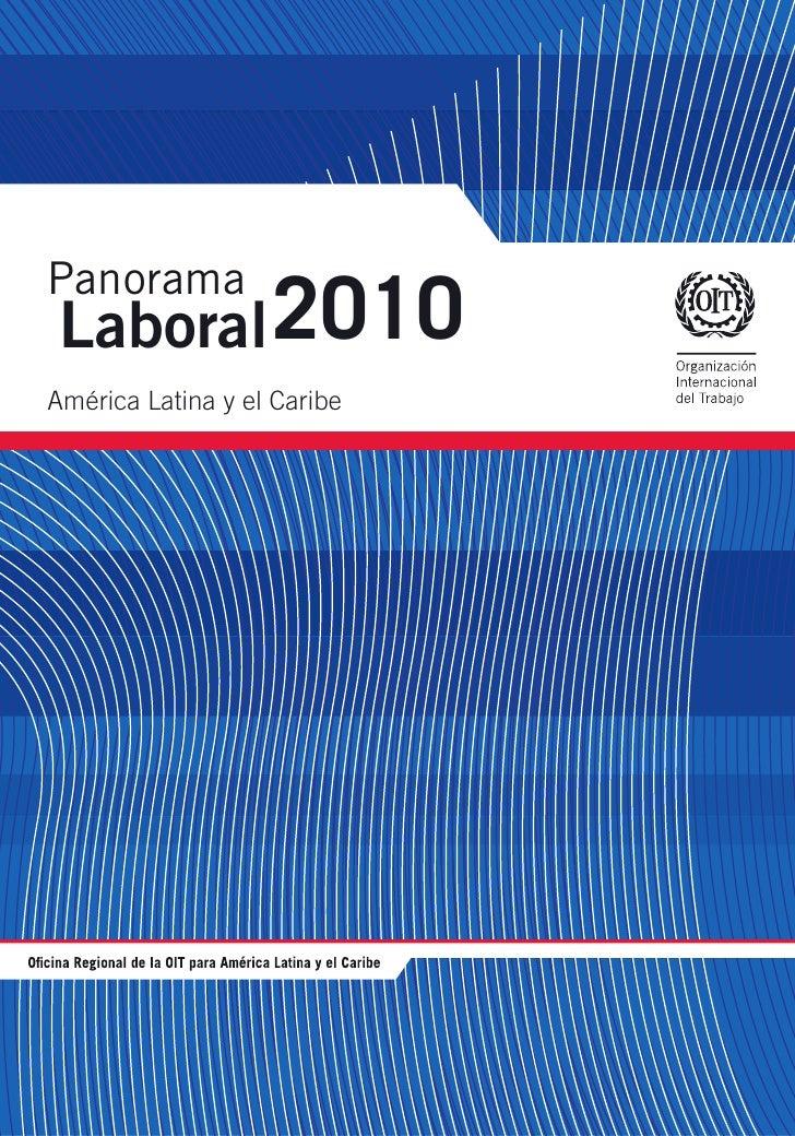 Panorama Laboral 2010América Latina y el Caribe