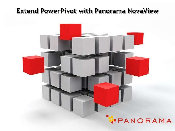 Microsoft SharePoint - Extend PowerPivot with Panorma NovaView Presentation