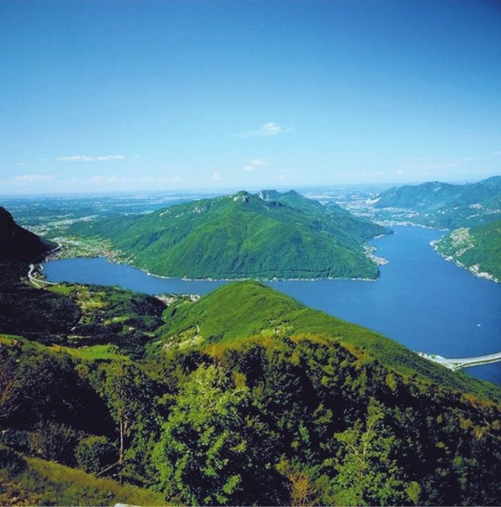 Eco turismo a Mendrisio: il panorama dal monte San Giorgio
