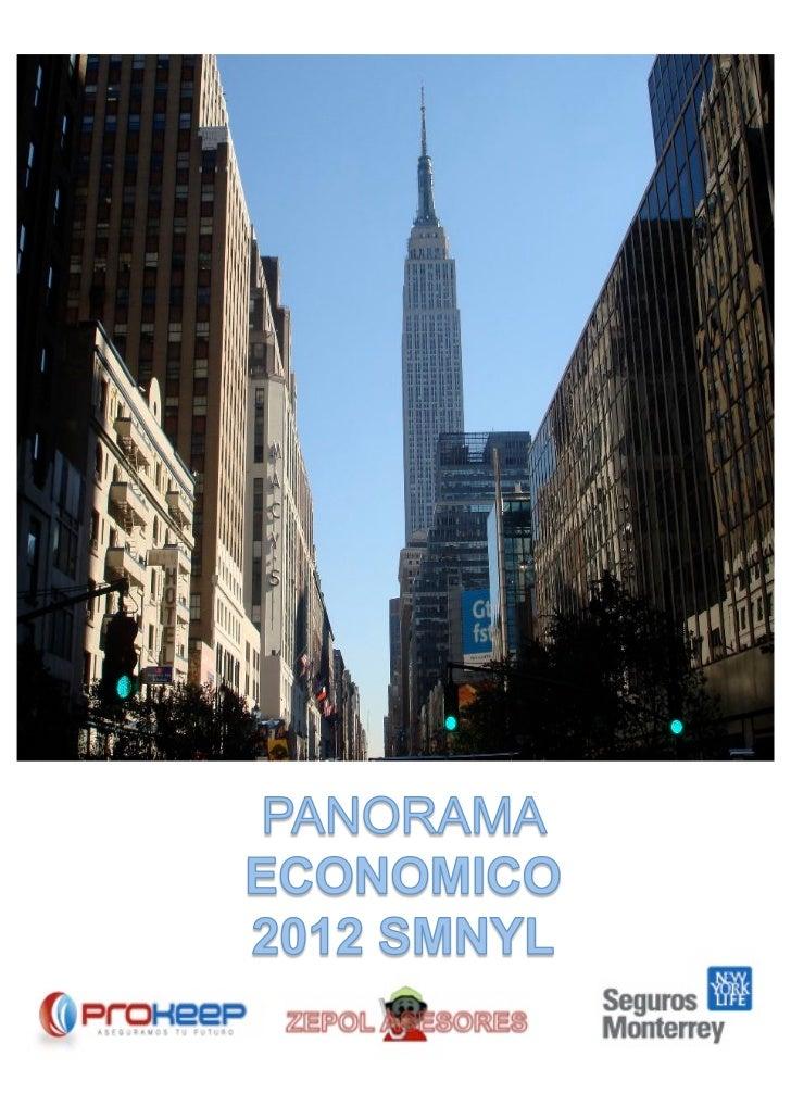 Panorama economico 2012