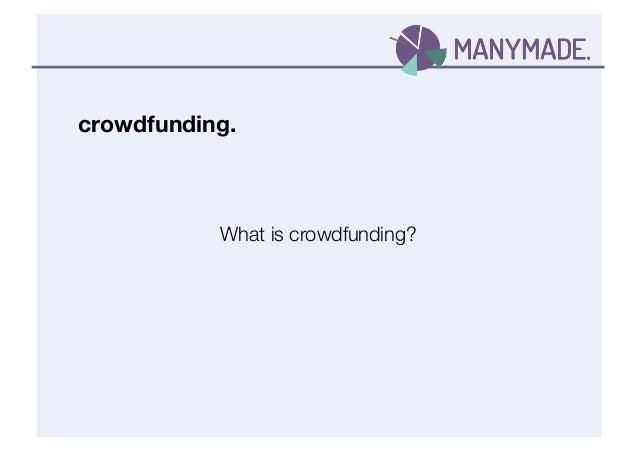 Panorama Forum Crowdfunding Presentation