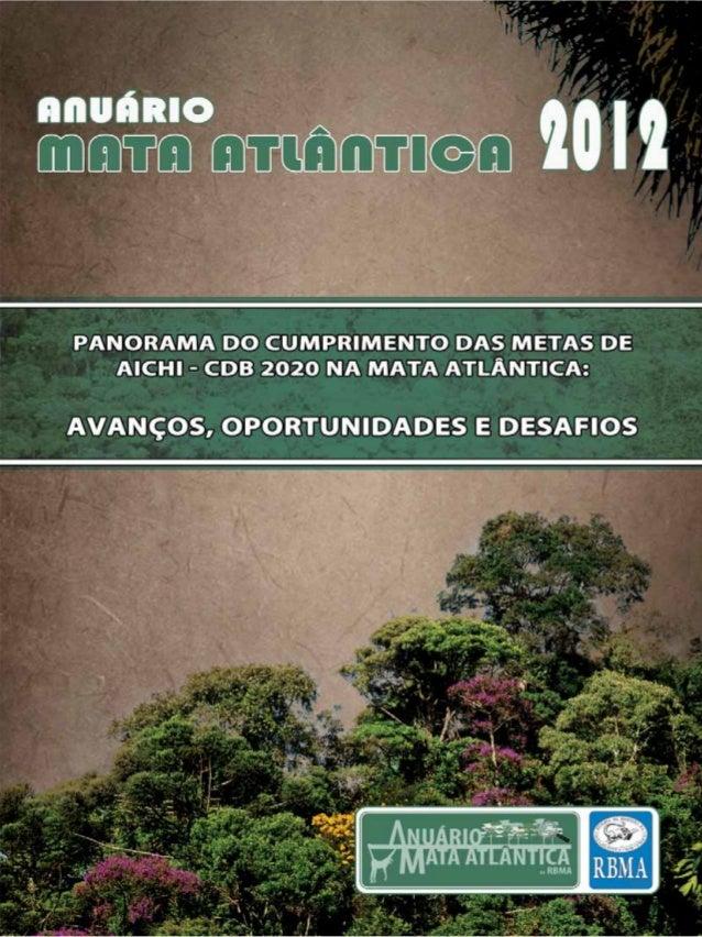 Anuario Mata Atlântica 2012 - 1