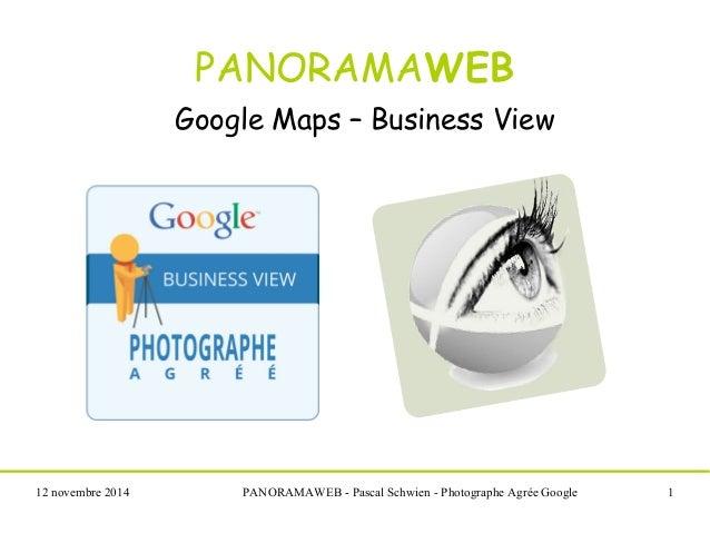 Panoramaweb visites virtuelles google