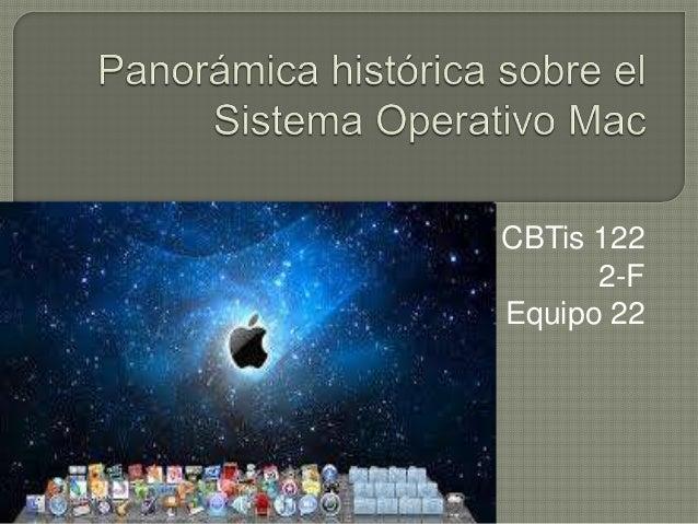 Panorámica histórica sobre el sistema operativo mac