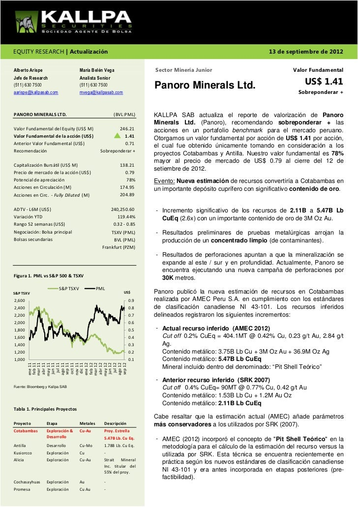 EQUITY RESEARCH | Actualización                                                                               13 de septie...