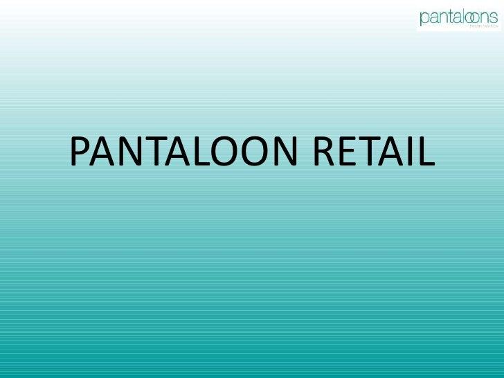PANTALOON RETAIL