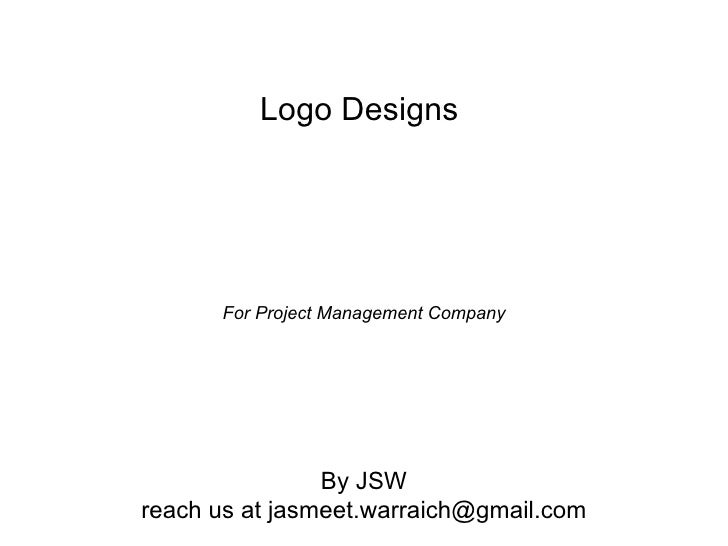 Logo Designs      For Project Management Company                By JSWreach us at jasmeet.warraich@gmail.com