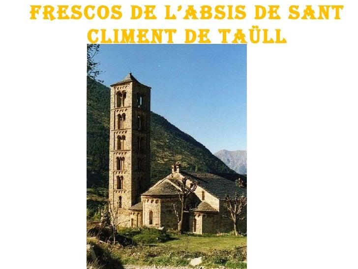 Frescos de l'absis de Sant Climent de Taüll