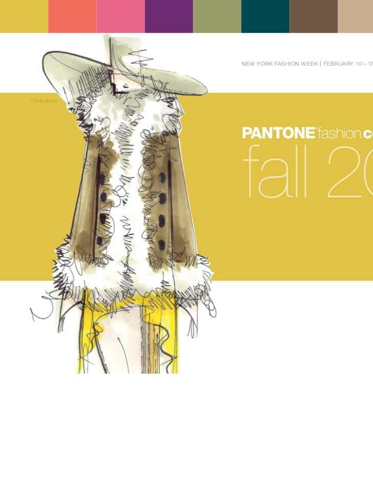 Pantone fcr fall_2011