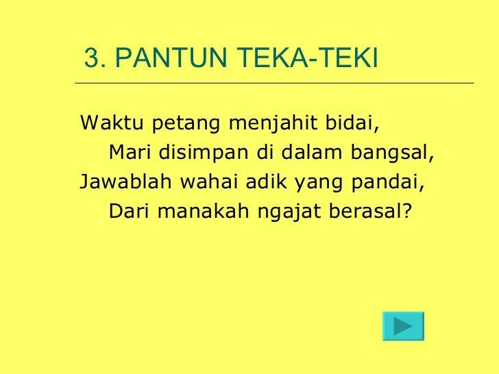Image Result For Pantun Teka Teki