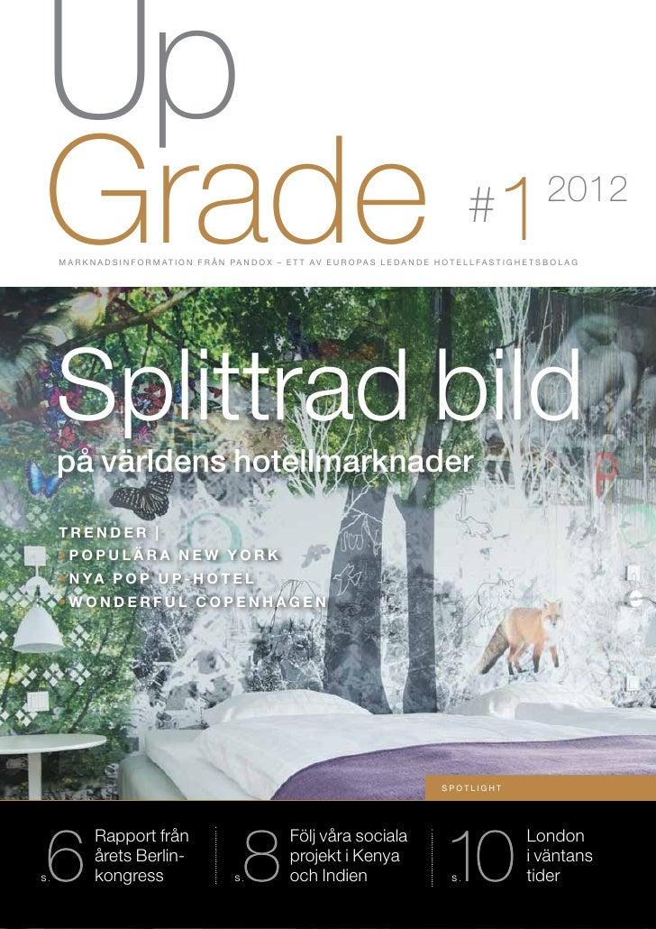 Pandox Upgrade - Nr 1 2012 (Sv)