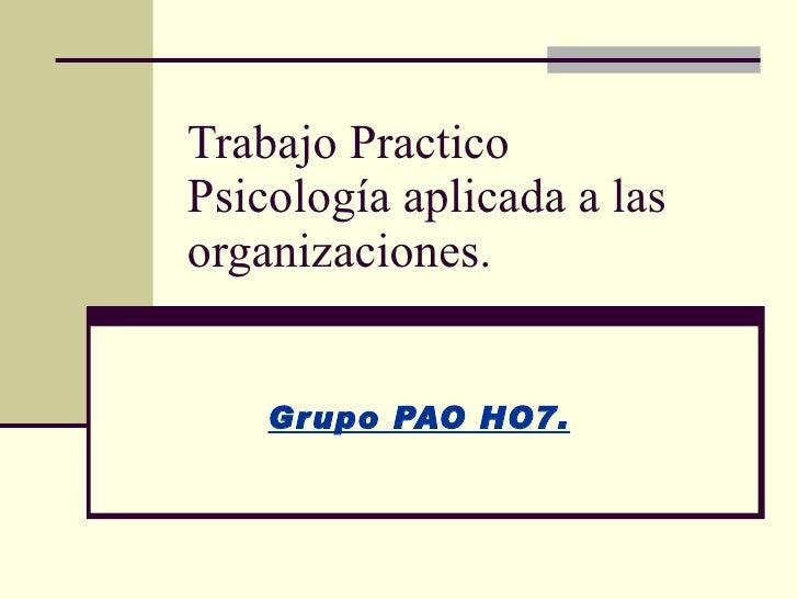 Pao H07 Bienvenidas Al ParaíSo