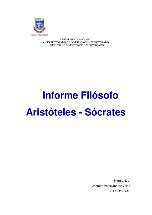 UNIVERSIDAD YACAMBÚ VICERRECTORADO DE INVESTIGACION Y POSTGRADO INSTITUTO DE INVESTIGACION Y POSTGRADO Integrantes: Jebmir...