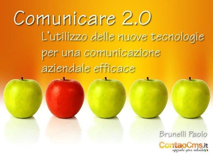 Paolo Brunelli - Comunicare 2.0