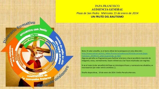 Papa.fancisco,.sacramentos,1 bautismo2.fruto