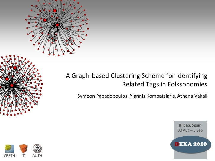 A Graph-based Clustering Scheme for Identifying Related Tags in Folksonomies