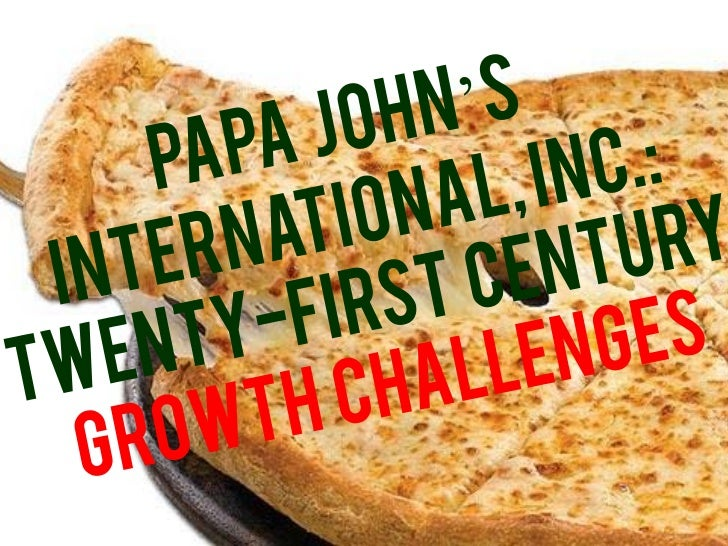 papa john s marketing strategy 2012-11-16  there are at least four lessons in modern marketing strategy to learn from the class-action lawsuit against papa john's pizza.