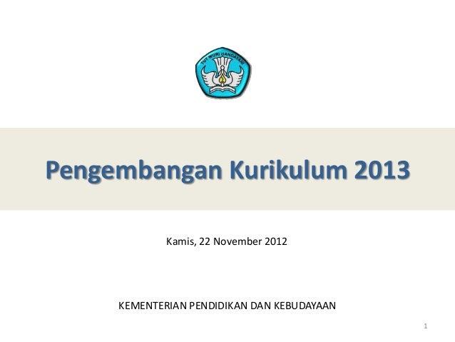 Paparan Kurikulum 2013 - Grand Topic