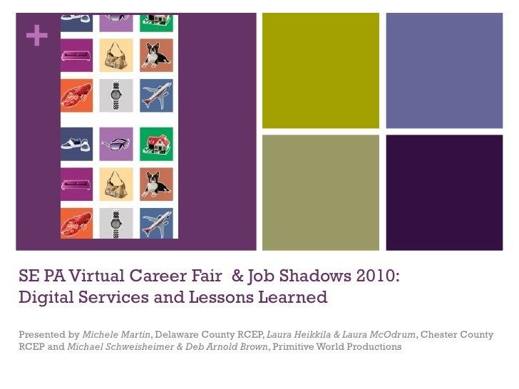 Virtual Career Fair and Job Shadowing Presentation
